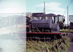 lost film lot (foundin_a_attic) Tags: hudswellclarke saddletank 1539 derekcrouch