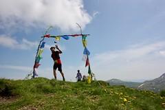 IMG_5802 (Marcia dei Tori) Tags: 2018 montespigolino italy skyrun marciadeitori mdt2018 caicarpi appennino appenninomodenese januacoeli paololottini running mountain italia emiliaromagna run sky flag tibetanflag