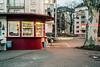 Kiosk (Frankfurt am Main) (simonmalz) Tags: analog kodak portra fuji gw690 mediumformat film frankfurt night luminale luminale2018 frankfurtammain