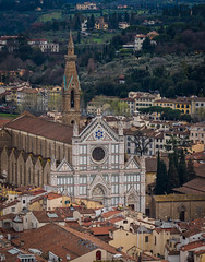 Basilica di Santa Croce from the  Duomo- (jdl1963) Tags: travel italy florence firenze tuscanny basilica di santa croce from duomo