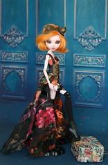 Современный стимпанк (Elena_art) Tags: monsterhigh mh ooak outfit steampunk handmade commission