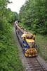 Struggling on the Hill (JaiJad) Tags: train railroad necr necr3857 newenglandcentral monson ma