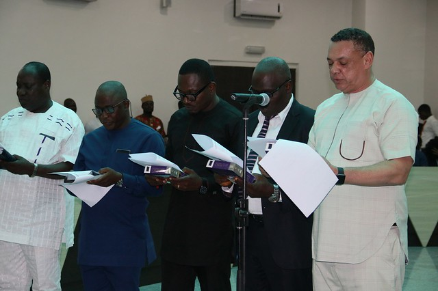 HSDickson -SWEARING IN Ceremony of Special Advisers in Bayelsa State 24th April  2018