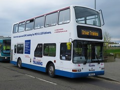 East Yorkshire Motor Services 9918 (546EYB) - 22-04-18 (peter_b2008) Tags: eastyorkshiremotorservices eyms goahead londoncentral volvo b7tl plaxton president trainingbus 9918 546eyb w448wgh buses coaches transport buspictures