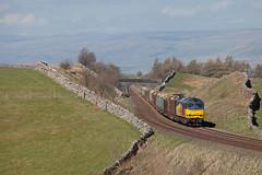 Log Slog (Richie B.) Tags: birkett common settle and carlisle railway cumbria colas rail 6j37 brush traction procor british class 60 60085