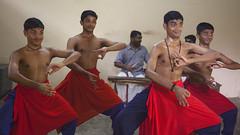 Kathakali Training (Sharpshooter Alex) Tags: young men training kathakali art dance traditional classical kerala india indian male travel culture asia