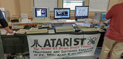 VCF East 2018 (Dave Shevett) Tags: retrocomputing newjersey vcf atari 2018 old may wall retro vintage antique computers vcfeast nj