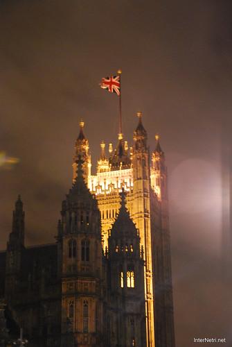 Парламент і Біг Бен Лондон вночі InterNetri United Kingdom 0448