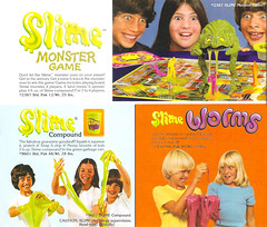 Vintage 1970's Mattel SLIME Monster Game Catalog Ad (gregg_koenig) Tags: vintage 1970s mattel slime monster game catalog ad can worms 70s old