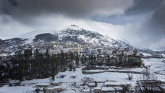 Winter in the national park (luigig75) Tags: parconazionaledabruzzolazioemolise peaks mountains village opi pescasseroli italia italy abruzzo landscape winter 2018 sonyepz1650mmf3556oss sonyilce5000 alpha