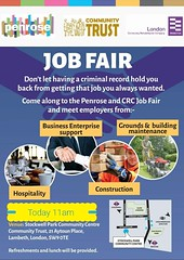 Job Fair Today in the centre 11am - 2pm come in over 10 organisations on site dont have a CV dont worry someone is here to help you hope to see you later if its work your looking for. https://t.co/1qEAa8gia6
