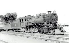 Iraq Railways - Iraqi State Railways Class Z 2-8-2 steam locomotive Nr. 96 (Maschinenfabrik Esslingen 5194 / 1956) - Basra, 15 March 1967 (HISTORICAL RAILWAY IMAGES) Tags: iraq railways isr steam locomotive العراق mfe esslingen train
