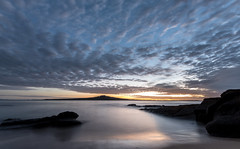 18B_1118 (Jimharding) Tags: auckland channel devonport haurakigulf northhead rangitoto calm cloudscape coast coastline dawn seascape still weather