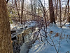 Winter - Reflections in the Brook (Stans Gallery) Tags: winter water brook stream creek trees tree woods reflections wetreflections snow mirror mirrioring shadows ice wet