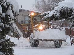 Clearing a path (jamica1) Tags: snow plow grader equipment winter rutland kelowna okanagan bc british columbia canada