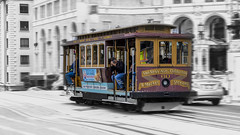 Drive-by Shooting - Explored Mar 31 2018 (Stew_Bayarea) Tags: sanfrancisco tourist trolley cablecar californiastreet travel