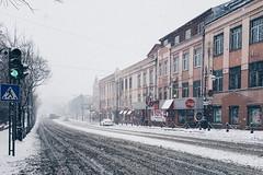Владивосток - Vladivostok (dataichi) Tags: владивосток vladivostok street city snow snowing russia travel tourism destination siberia perspective