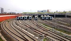北屯機廠 Bei Tun Depot - 2 (葉 正道 Ben(busy)) Tags: taichung taiwan mrt railway 鐵路 depot 北屯機廠 中運量 台中捷運 捷運 台中 台灣 beitundepot 城市 city
