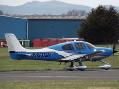 N662DP Cirrus S22T Private (Aircaft @ Gloucestershire Airport By James) Tags: gloucestershire airport n662dp cirrus sr22t private egbj james lloyds