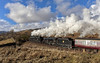 Looking back on the West Highland (EltonRoad) Tags: 44871 45407 glasgowhighlander jacobite ecs steam train railway line westhighlandline crianlarich inverhaggernie strath fillan westcoast westhighlands scotland doubleheader 45157