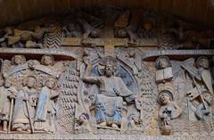 Iglesia abacial de Sainte-Foy / Conques / Aveyron (44) / França / France / Francia (Ull màgic (+1.500.000 views)) Tags: conques aveyron frança france francia romànic románico esglèsia iglesia arc arquitectura edifici escultura fuji xt1 abadía