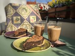Sweet and sunny lazy afternoon on balcony (Sockenhummel) Tags: balkon balcony kaffee