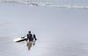 Pause (LadyBMerritt) Tags: surfer surf board pacific ocean waves sand oregon indianbeach