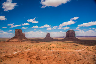 Monument Valley West & East Mittens Buttes Arizona Desert Storm Clouds Landscapes! High Resolution Monument Valley Photos! Arizona Breaking Storm Desert Road Photography! Dr. Elliot McGucken High Res Fine Art Landscape & Nature Photography Scenic Arizona!