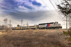 """Field of Trains through Montville"" (bozartproductions) Tags: new jersey transit montville locomotive geep engine diesel"