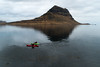 Kayaking in Iceland (Tómas Freyr) Tags: grundarfjarðarbær grundarfjordur grundarfjörður iceland kajak kayak kirkjufell kirkjufellmountain snæfellsnes vesturadventure boat boatride boats boattrip fun landscape landslag ocean sea water ísland westernregion is vestur adventures