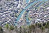 Interlaken and river Aare Bernese Oberland Switzerland (roli_b) Tags: interlaken kanal aare fluss river rio town city ciudad bernese oberland berner jungfrau region switzerland schweiz suisse suiza sivzzera travel viajar turismo tourism