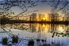 Steinibühlweiher (Hanspeter Ryser) Tags: steinibühlweiher sempach schweiz wasser see äste wald natur landschaft abendstimmung blauestunde sonnenuntergang sunst hanspeter ryser