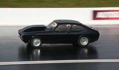 Capri_8115 (Fast an' Bulbous) Tags: car automobile vehicle motorsport fast speed power acceleration drag strip race track santapod panning outdoor nikon d7100 gimp