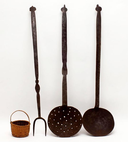 Hand-Forged Hearth Tools ($532.00)