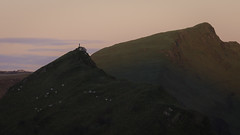 Somebody else not me... (Malajusted1) Tags: parkhouse hill chrome peakdistrict peak district national park sunrise dawn fell runner running silhouette ridge walk earl sterndale buxton white