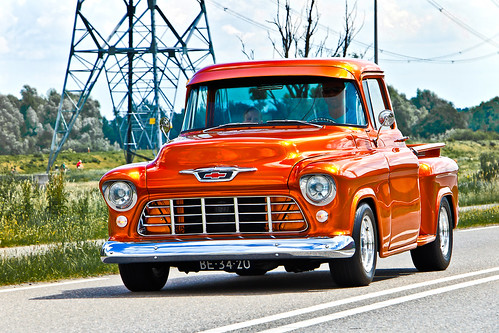 Chevrolet Pick-Up Truck 1955 (2317)
