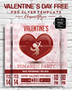 Valentine`s Day – Free Flyer PSD Template + Facebook Cover (elegantflyers@) Tags: cupids download facebookcover gray heart hearts icons illustration illustrator love passion photoshop picture poster premium psdtemplate red romance valentinesday vector