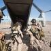 Marines debark an Osprey