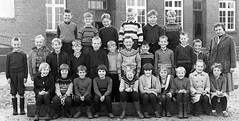 Class photo (theirhistory) Tags: boys kids school class form group teacher girls jacket jumper shorts trousers dress shoes wellies rubberboots