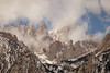 Clearing Storm on Mount Whitney (Jeffrey Sullivan) Tags: mt mount whitney mountain sierra nevada easternsierra lone pine landscape nature travel photography furnace creek california usa canon eos 6d photo copyright march 2018 jeff sullivan clouds storm mist snow weather
