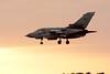 Tonka Twilight (_J @BRX) Tags: marham74 raf tornado gr4 za591 royalairforce rafmarham march 2018 marham norfolk england uk tonka av aviation plane jet panavia landing recover sunset silhouette 058