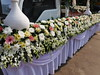 Funeral Flower Float (SierraSunrise) Tags: thailand nongkhai phonphisai isaan esarn flowers float funeral culture customs