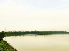 Cooling Pond (hi_nilabh) Tags: bksc bokaro steel city station railway jharkhand ranchi dhanbad jamshedpur