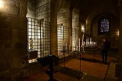 Crypte d'Orcival (mifranc91) Tags: 1820 auvergne basilique candle cierge d700 lumières nikon