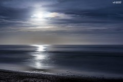 By the Light Of The Silvery Moon (red stilletto) Tags: thegreatoceanroad thegreatoceanroadvictoria greatoceanroad greatoceanroadvictoria thecoast apollobay apollobayvictoria moonlight moon fullmoon beach sea ocean