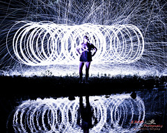 1 8x10 (1300 Photography) Tags: nikon affinity d750 50mm outdoors nightphotography boudoir female lightpainting longexposure steelwoolphotography