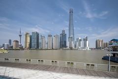 Lujiazui Skyline - Shanghai (Tony Shi, Life) Tags: shanghai china pudong shanghaiskyline lujiazui asia bund puxi city urban architecture buildings landmark cityscape famous