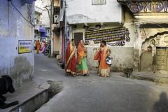 Ladies of Pushkar (Eric Cooper 1) Tags: pushkar india women pots costume composition