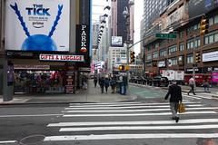 Midtown (Blinking Charlie) Tags: midtown timessquare broadway manhattan nyc newyorkcity newyork thetick urbanlandscape pedestrians crosswalk sonydscrx100m3 blinkingcharlie usa 2017 w52ndstreet