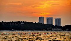 Pattaya sunset/Thailand (meren34) Tags: thailand koh travel island sea таиланд タイประเทศไทย tailandia 泰国 تايلند pattaya sunset color evening red sky dawn sun day city